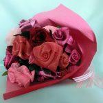 スクエアーリボンアート®271薔薇の花束