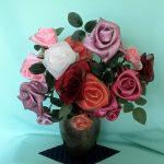 スクエアーリボンアート®280薔薇
